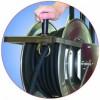 Schlauchhaspel Edelstahl für MBH1260